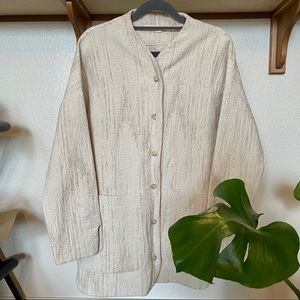 HACKWITH DESIGN HOUSE | Button-up Jacket
